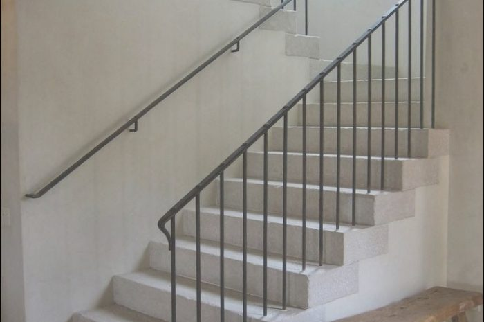 8 Typical Iron Handrails for Stairs Interior Image
