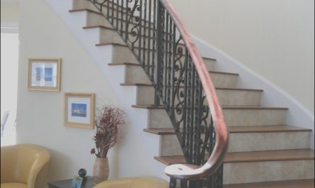 Iron Railing for Stairs Interior Luxury Wrought Iron Stair Railings for Stunning Interior