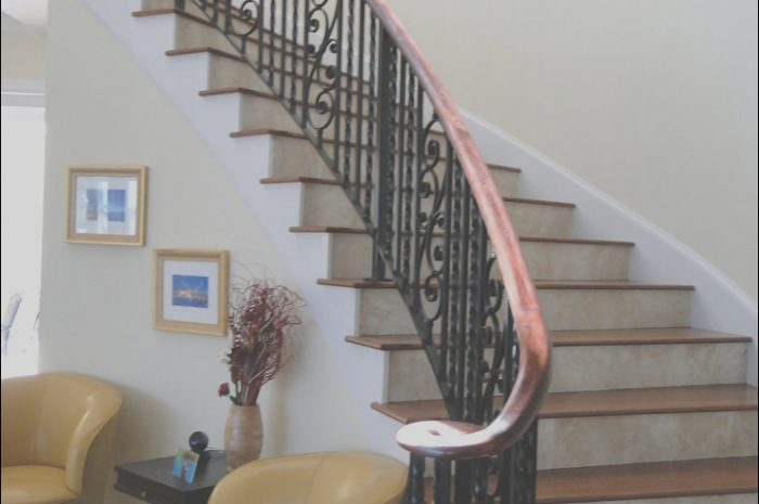 9 Comfortable Iron Railing for Stairs Interior Images