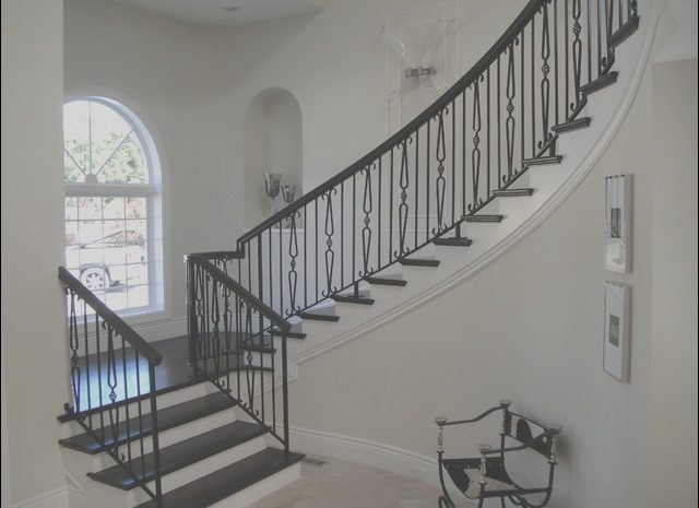 13 Unique Iron Stairs Decor Images