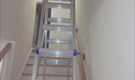 Ladders for Decorating Hallway and Stairs Lovely Ladders for Decorating Hallway and Stairs