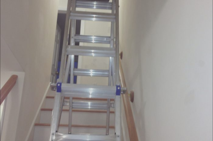 8 Alive Ladders for Decorating Hallway and Stairs Photography