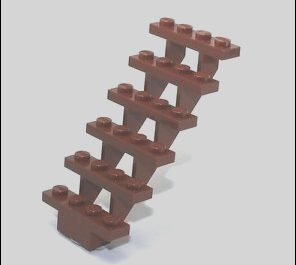 Lego Sets with Stairs Inspirational Lego Stairs Large Brown Stair Ladder Piece for City town
