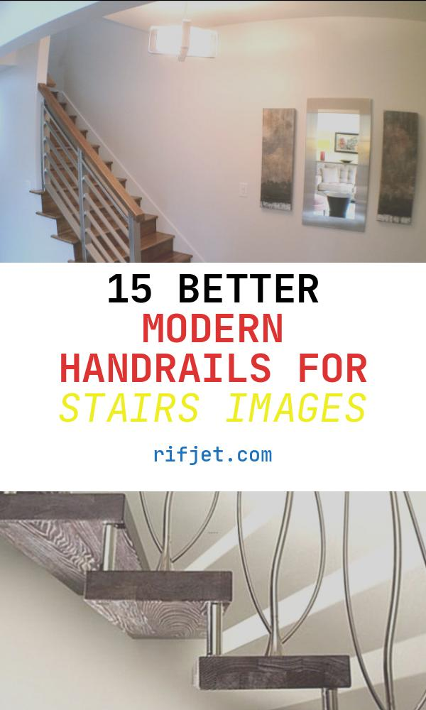 15 Better Modern Handrails for Stairs Images