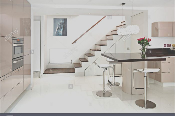 8 Genuine Modern Kitchen with Stairs Collection