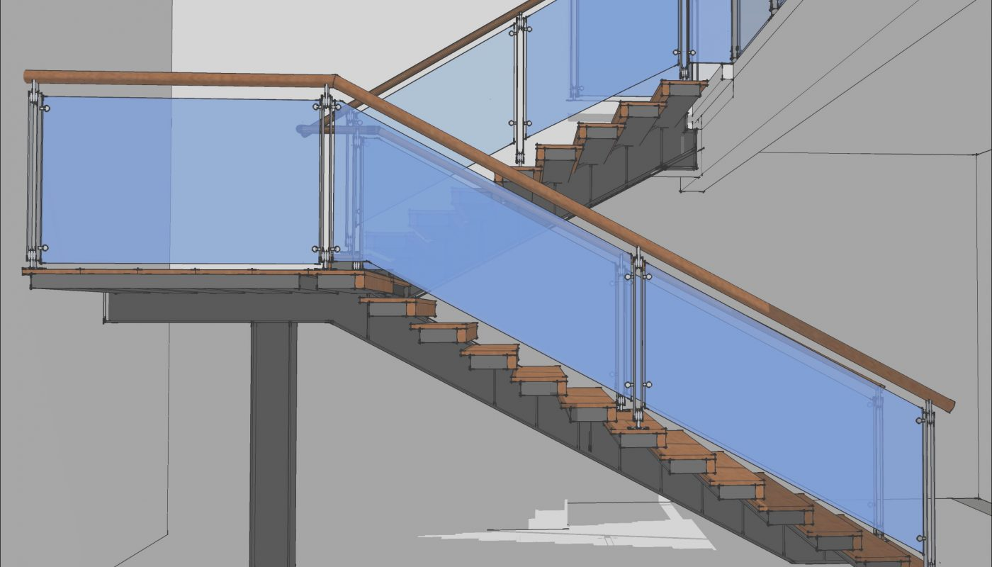Modern Stairs Sketchup Beautiful A Modern Cantilever Staircase In Steel and Wood – Eugene