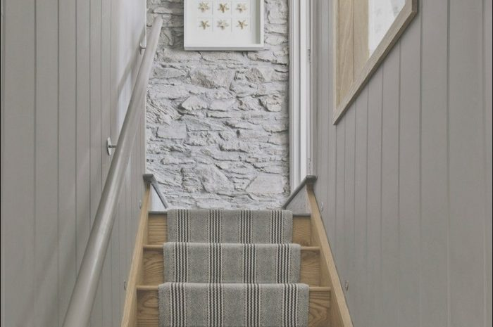 8 Impressive Narrow Hall Stairs and Landing Ideas Image