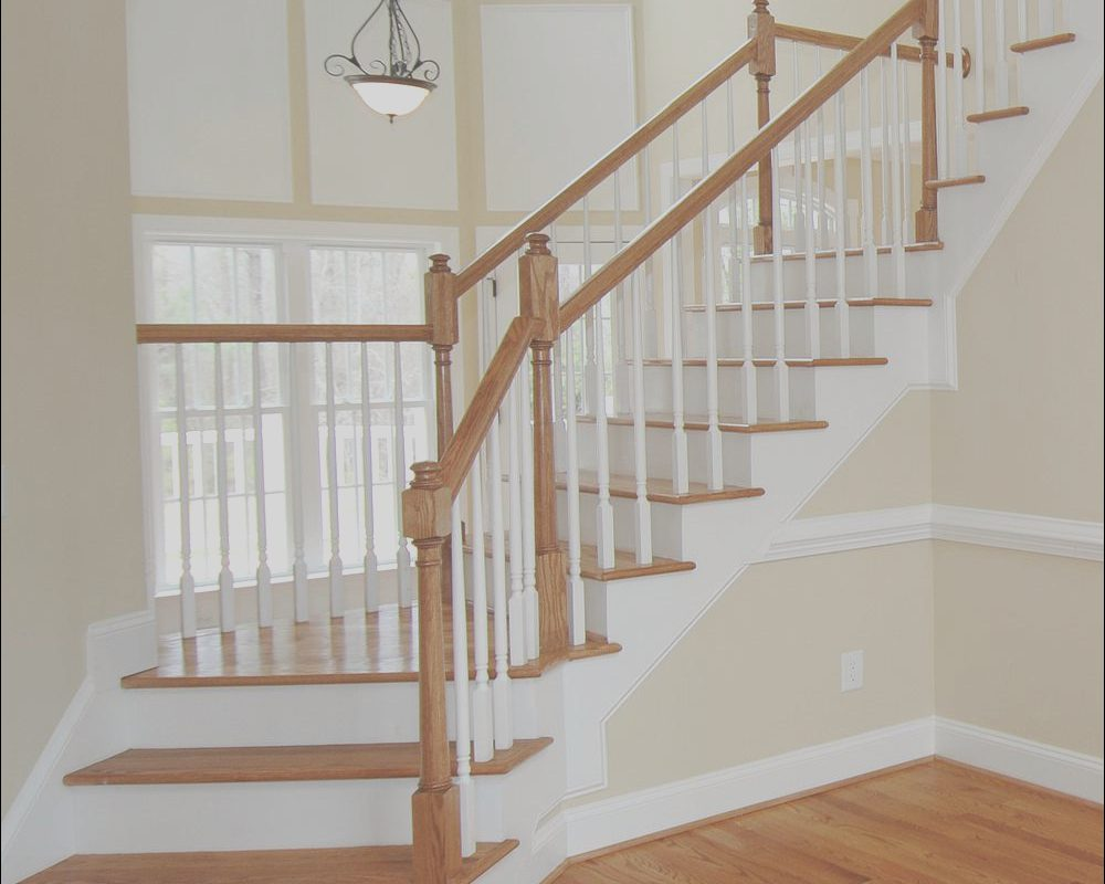 Oak Handrails for Stairs Interior Awesome 8 Ft Unfinished Red Oak Stair Handrail Paintable Stainable