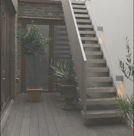 9 Peaceful Outside Stairs Design Photos