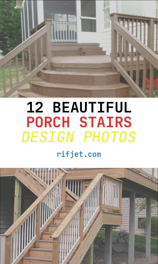 Porch Stairs Design Elegant Front Porch and Stairs Designs Photos