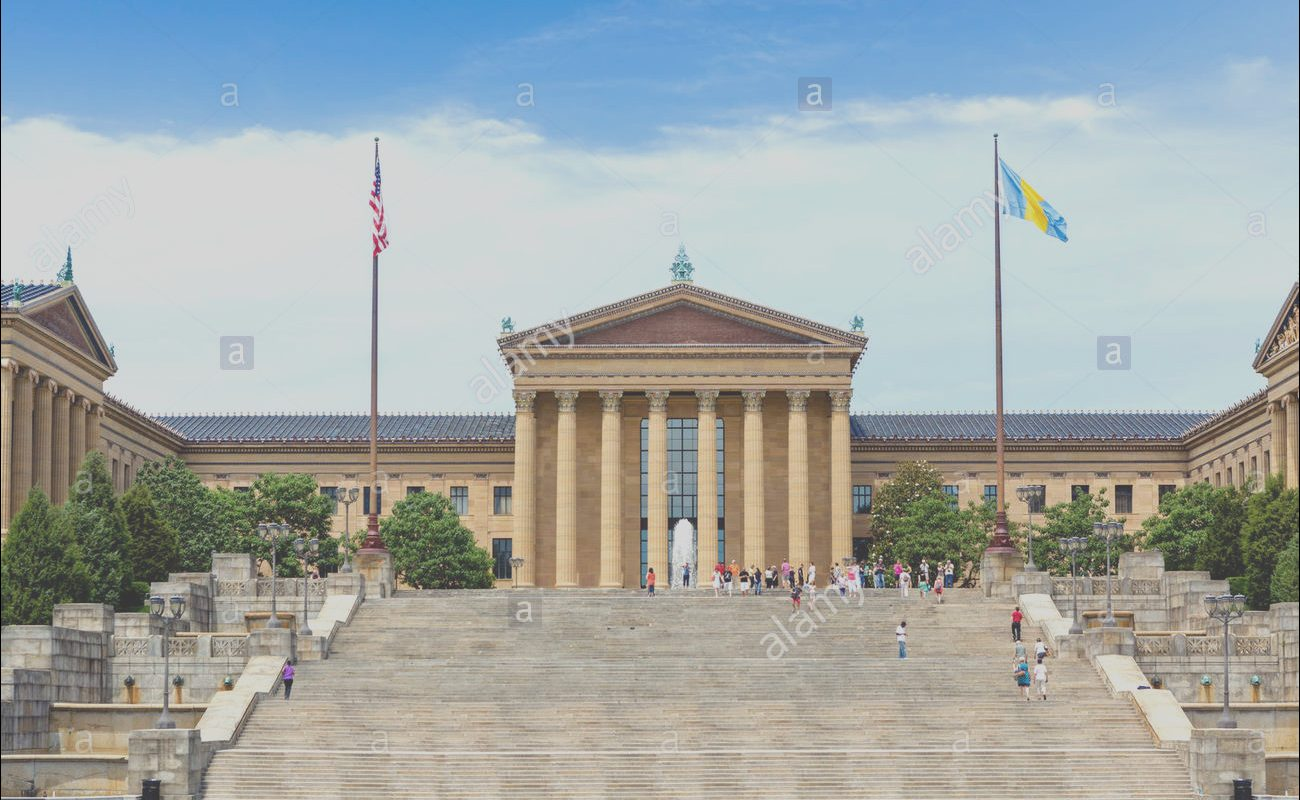 "Rocky Steps Parking Awesome the Philadelphia Museum Of Art with the Famous ""rocky"