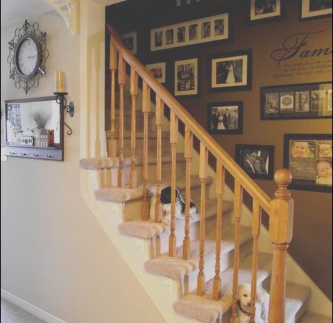 12 Amusing Side Of Stairs Decor Photos