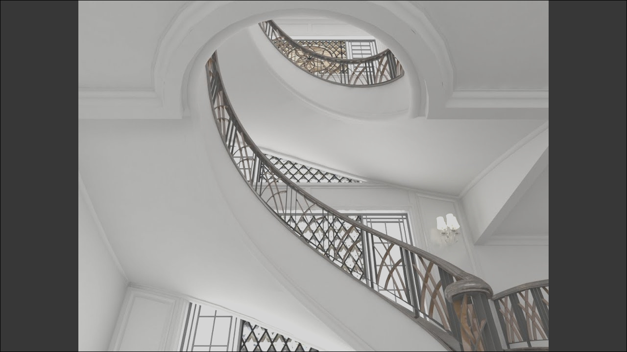 8 Pleasing Sketchup Stairs Interior Build Images - Stairs ...