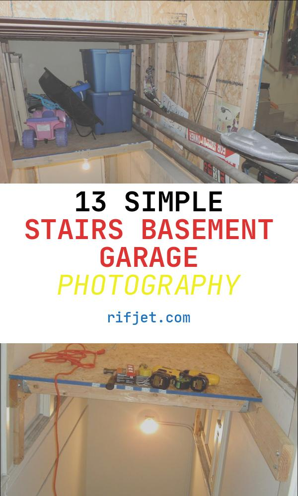 Stairs Basement Garage Beautiful Small Wasted Space Idea Basement Stairs In Garage 6