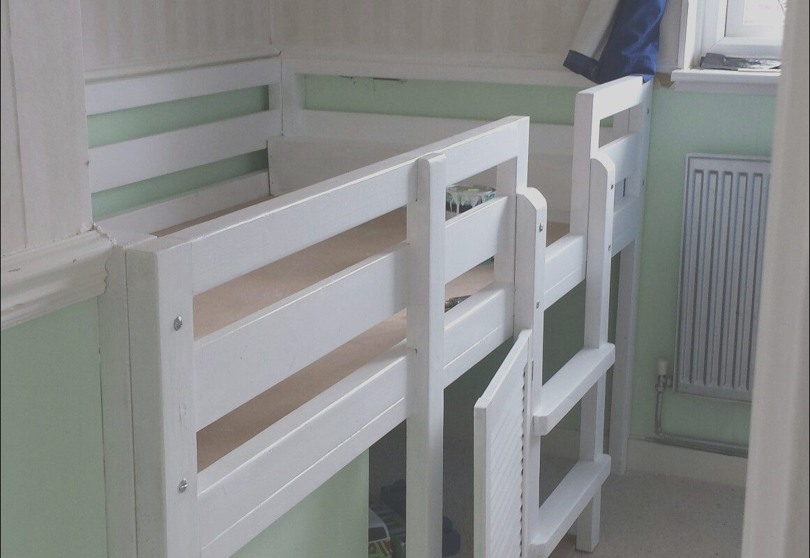 Stairs Box Ideas Unique Our Custom Designed Bed to Incorporate Stair Bulkhead