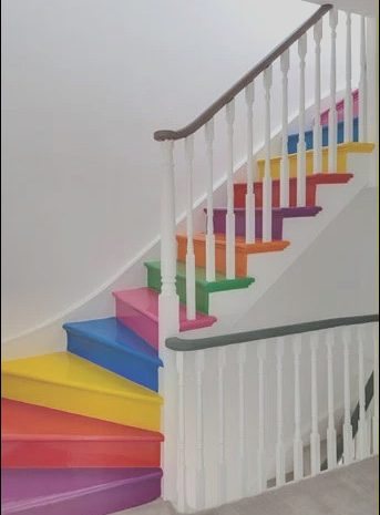 9 Better Stairs Color Design Image