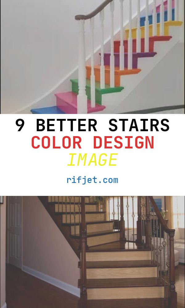 Stairs Color Design Lovely the Best Rainbow Home Decor Ideas Pillar Box Blue