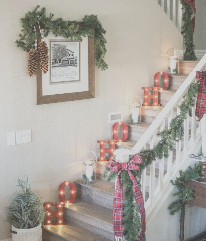 Stairs Contemporary Xmas Lovely Check Out top 26 Most Wonderful Modern Christmas Decor Ideas