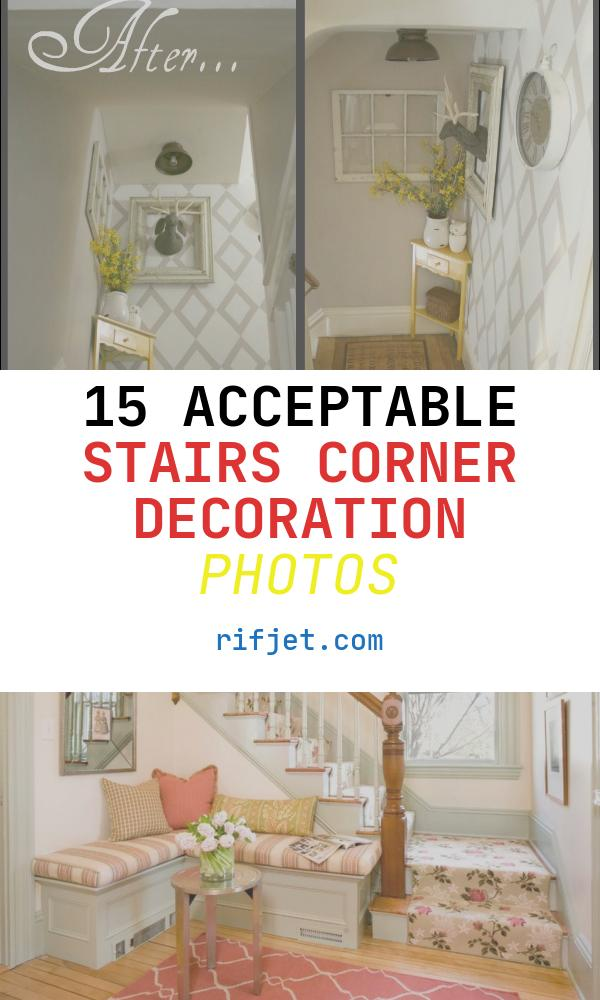 Stairs Corner Decoration Elegant Diy Show F Bud Friendly Stairwell Landing