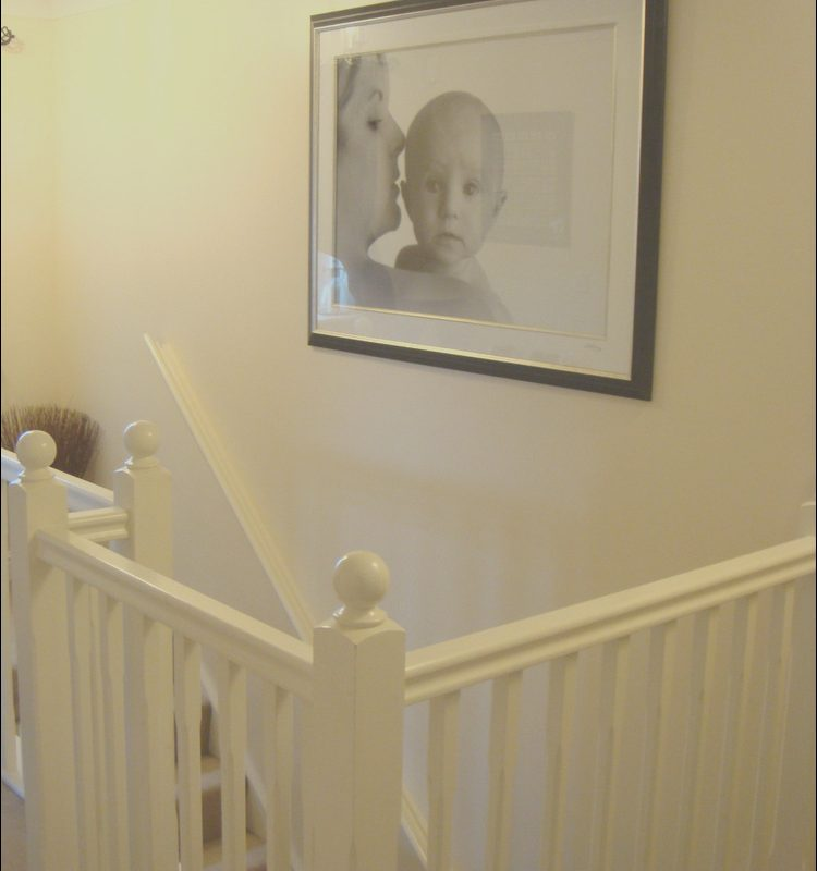 Stairs Decorating Jobs Fresh Decorating Landing Ceiling and Stairs Painting