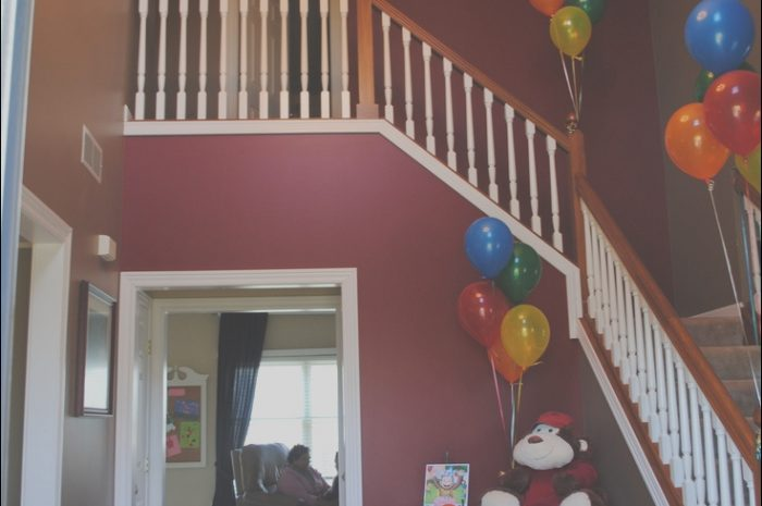 15 Natural Stairs Decoration for Party Photos