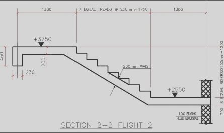 Stairs Design Eurocode Elegant Design Of Reinforced Concrete Staircase According to