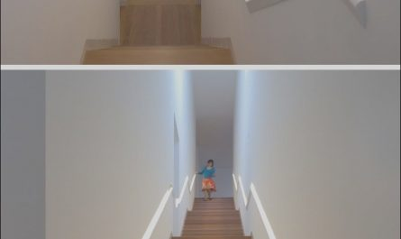Stairs Handrails Designs New Stair Design Idea – 9 Examples Built In Handrails