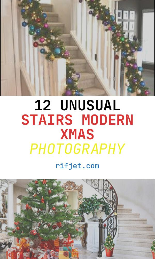 12 Unusual Stairs Modern Xmas Photography