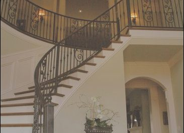 Stairs On Table New Foyers Curved Walls and Round Tables On Pinterest