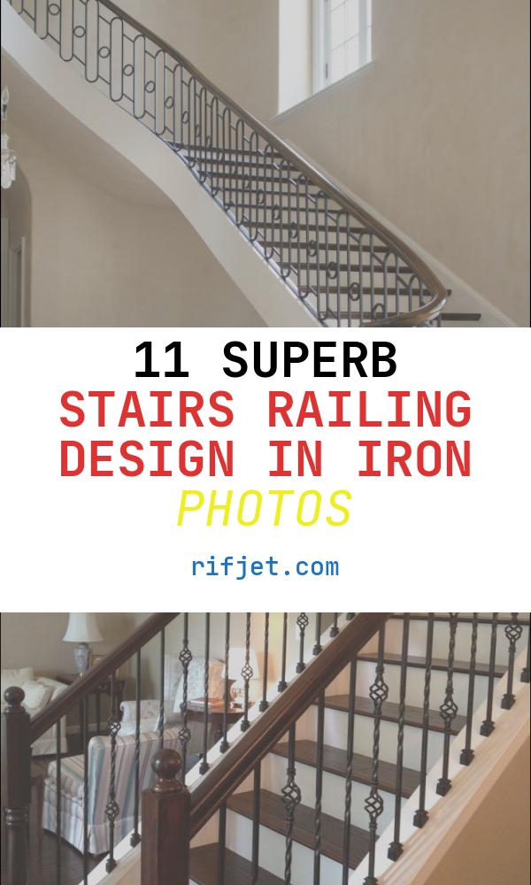 Stairs Railing Design In Iron Awesome Wrought Iron Stair Railing