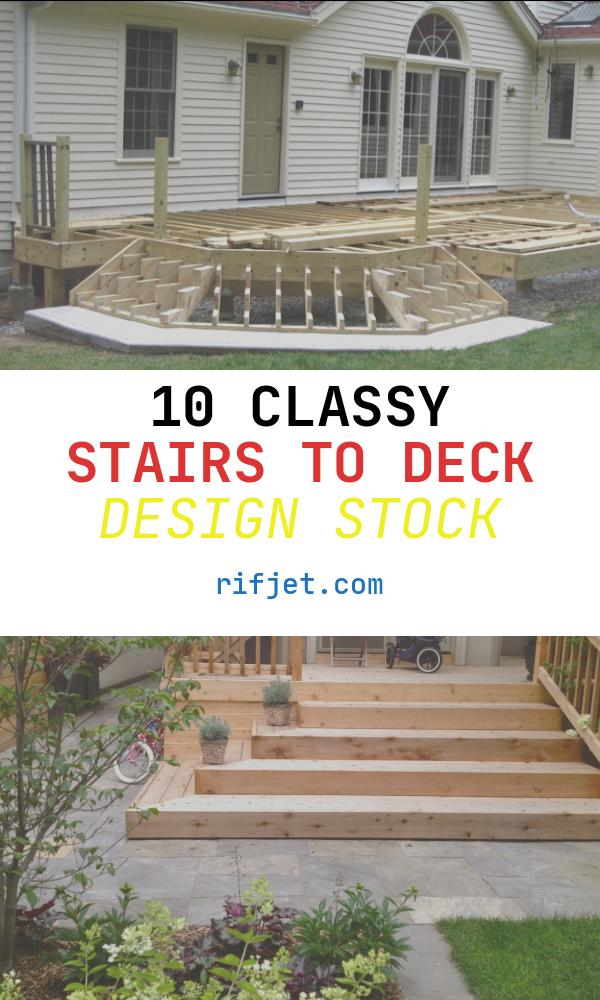 Stairs to Deck Design Beautiful 1000 Images About Deck Stairs On Pinterest