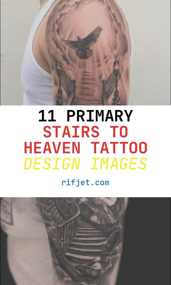 Stairs to Heaven Tattoo Design Elegant 50 Aneglic Heaven Tattoos Ideas and Designs 2018