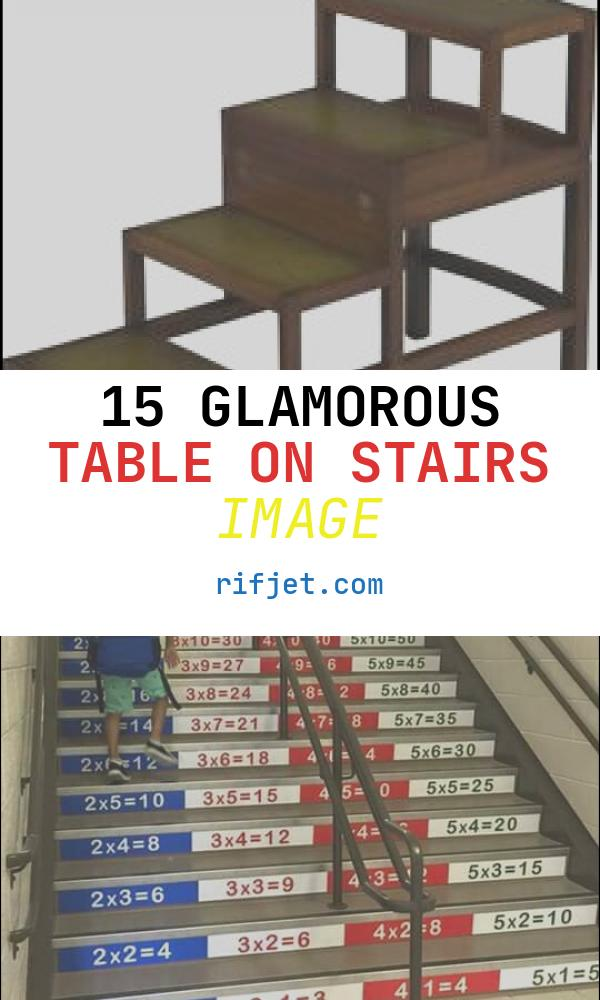 Table On Stairs Inspirational Library Steps Home & Garden