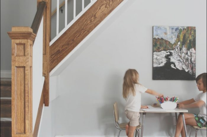 13 Appealing Under Stairs Table Stock