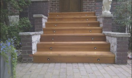 Wooden Entrance Stairs New Front Entrance Stairs