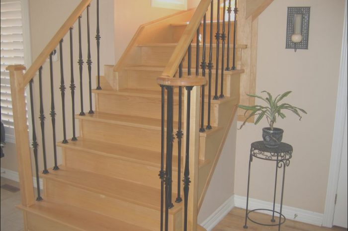 10 Practical Wooden Stairs and Railings Photos
