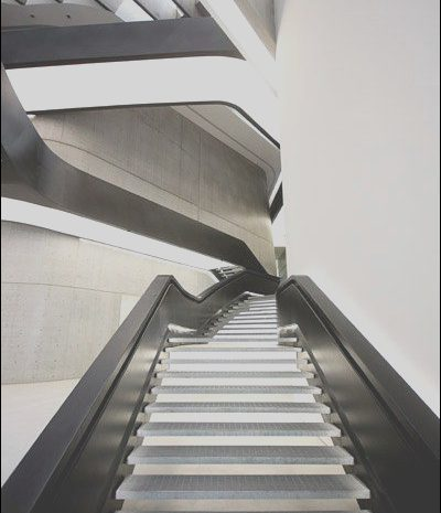 8 Antique Zaha Hadid Stairs Design Photos
