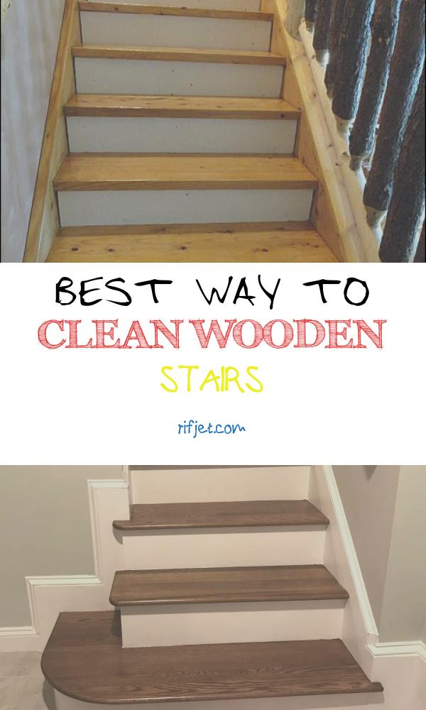 Best Way to Clean Wooden Stairs Awesome How to Paint and Stain Stairs