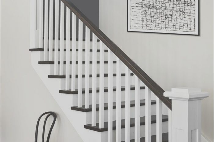 11 Incredible Black and White Stairs Ideas Collection