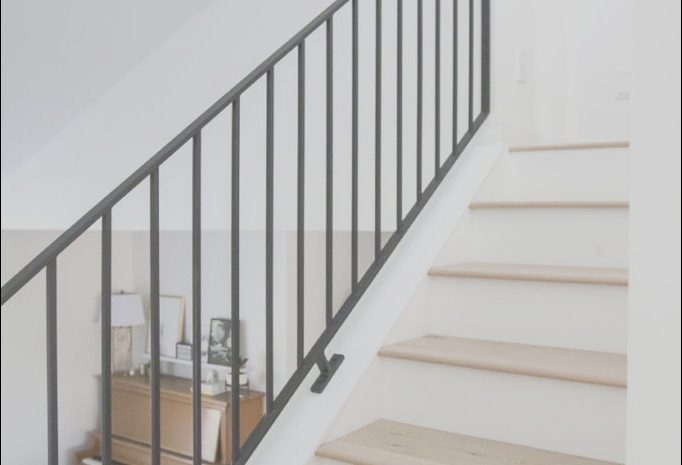 13 Impressive Contemporary Metal Railings for Stairs Image