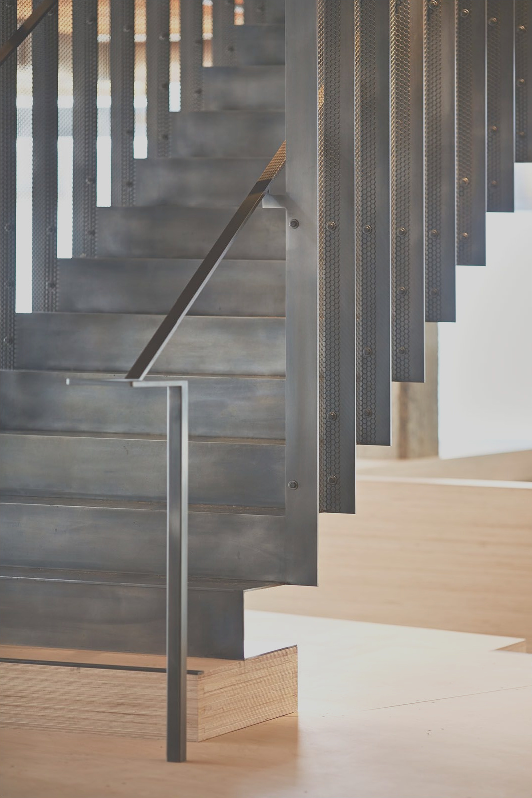 modern stair design continuous crazy cool