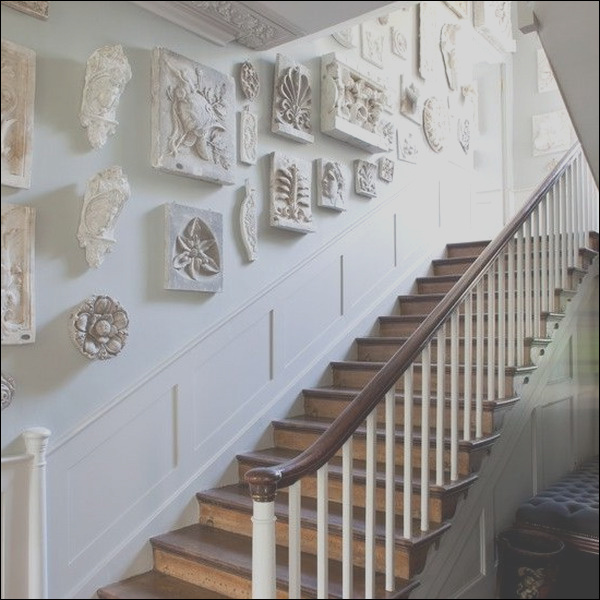 ways to decorate your staircase wall