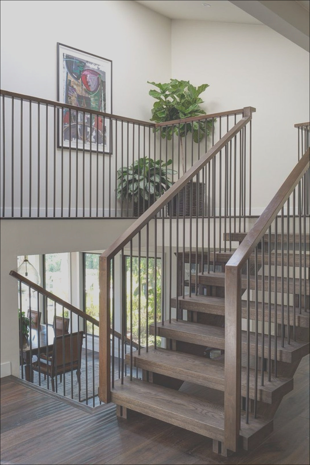 6 awesome wooden stair designs