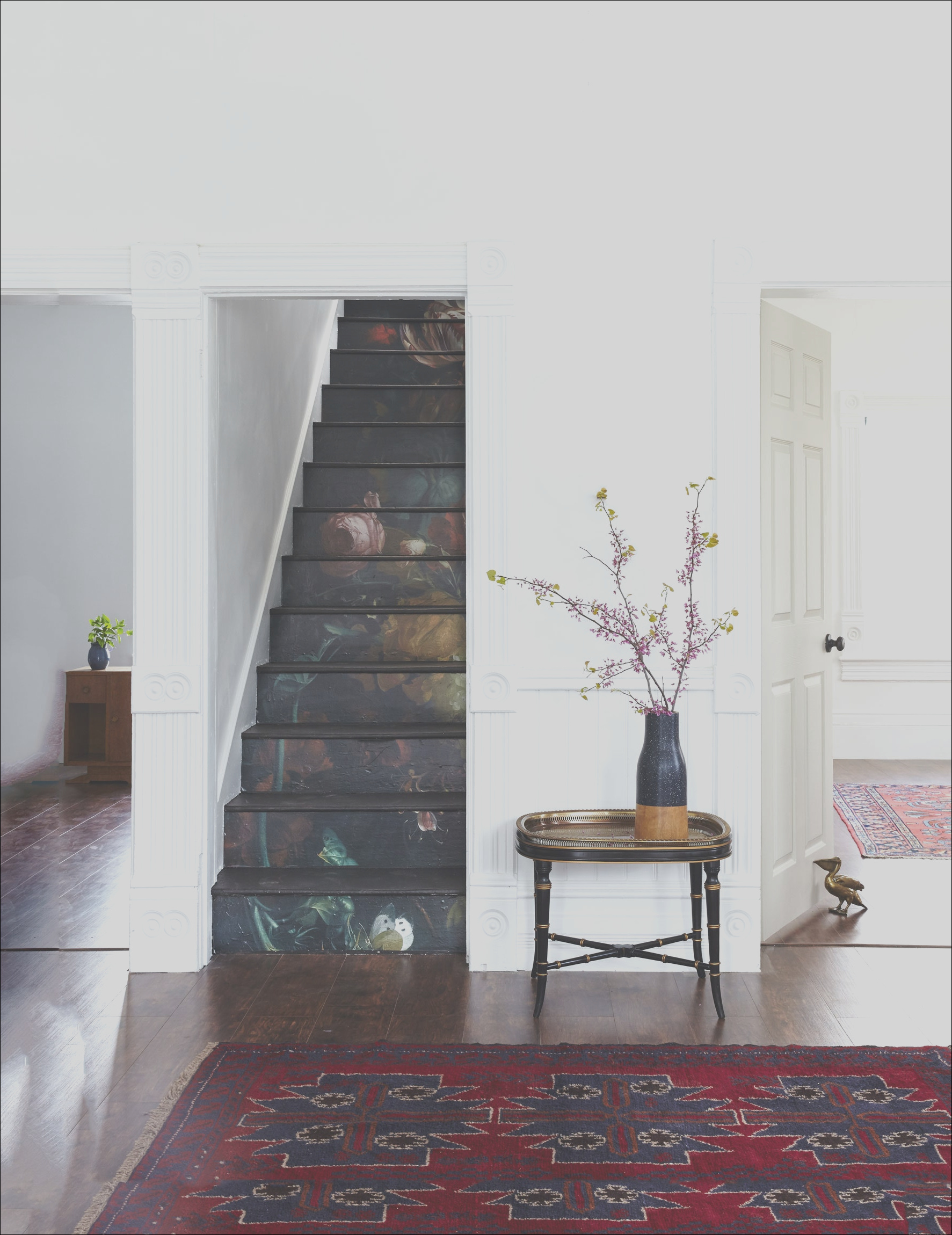 staircase idea old risers look like art