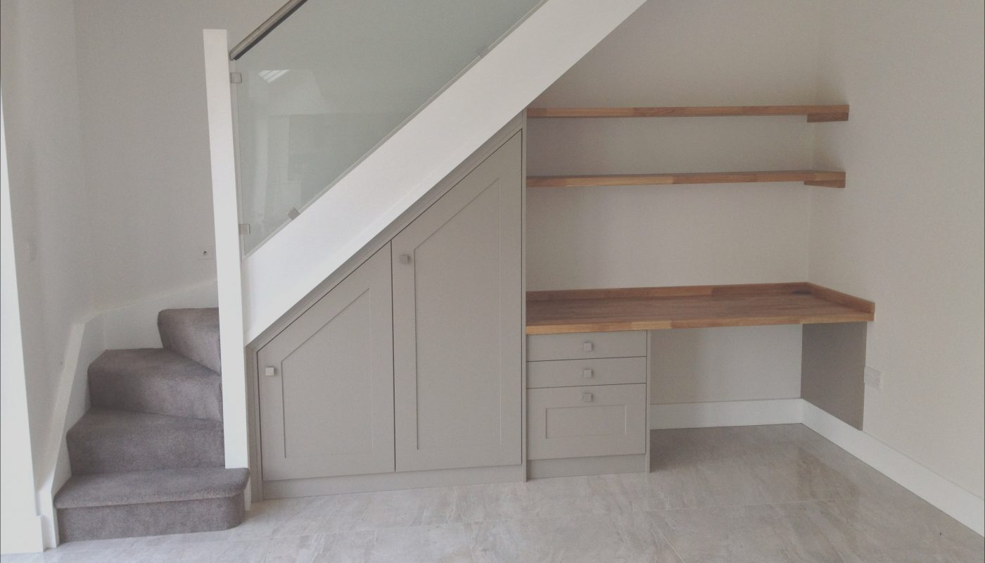 Desk Under Stairs Design Ideas Beautiful Under the Stairs Study Desk Space A Great Use Of Space