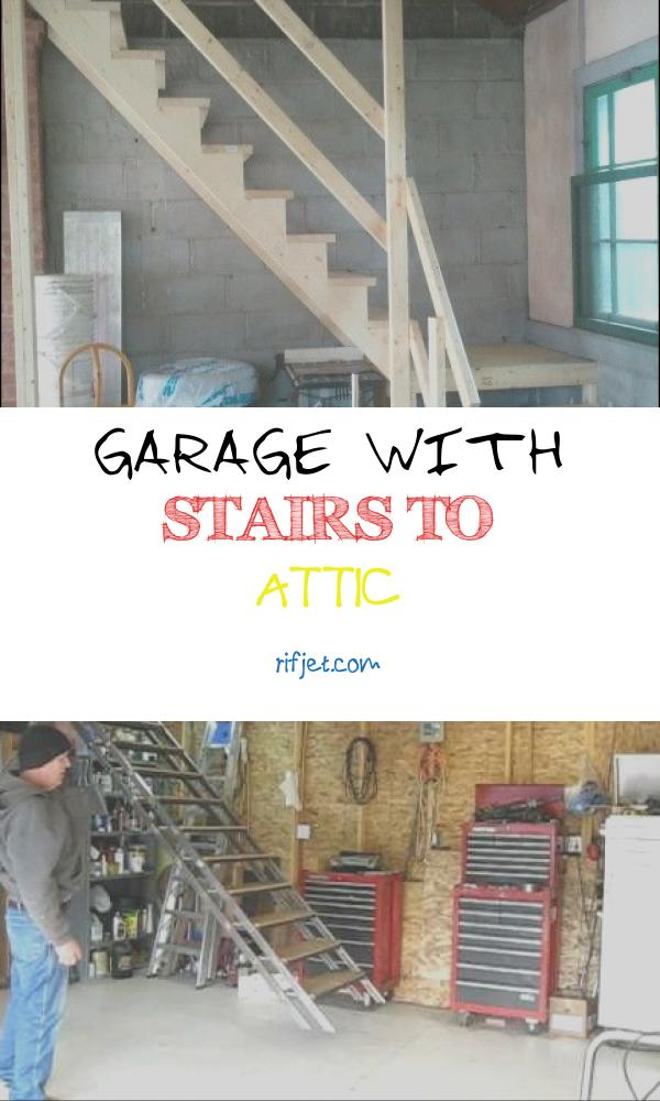 Garage with Stairs to attic Awesome Simple Stairs to A Garage attic