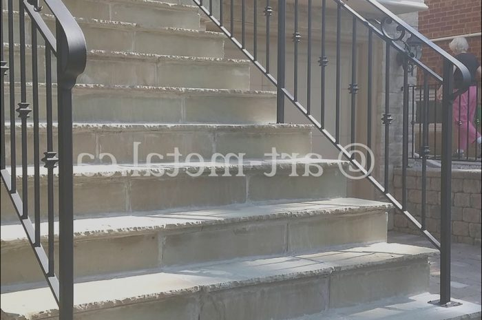 8 Decent Handrail Ideas for Exterior Stairs Gallery