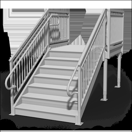 prefabricated metal stairs