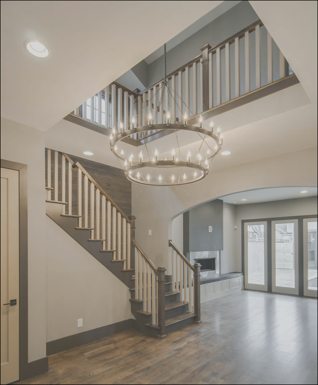 the new craftsman transitional staircase nashville phvw vp