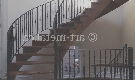 Interior Metal Stairs Best Of Interior Metal Stair Railing From the Best Contractor In